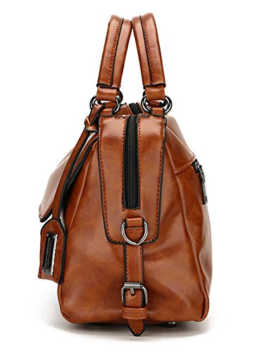 Vincico, Borsa a mano donna nero Black M Brown
