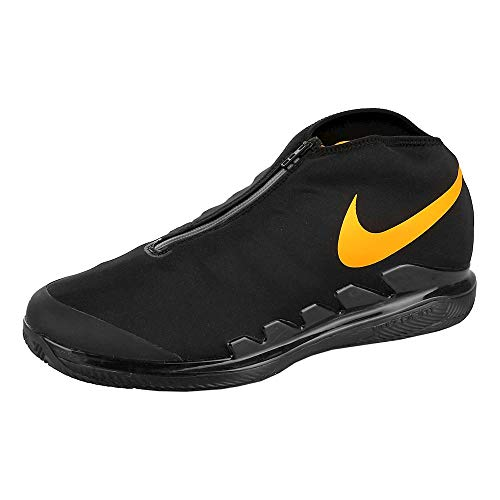 Nike Air Zoom Vapor X Glv Herren Sneakers AQ0568-001, Schwarz/University Gold, Schwarz (Black/University Gold), 46.5 EU - Air Zoom Basketball