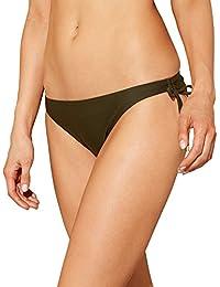 65167638d1 Debenhams Beach Collection Khaki Tie-Side Bikini Bottoms