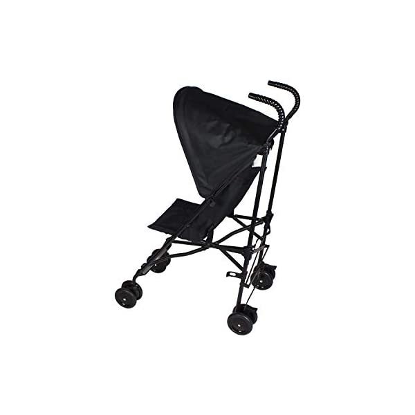 BABYWAY Stroller Buggy Pushchair - Easy Fold Babyway Suitable for children from 6 months to 36 months Swivel front wheels for ease of use and lockable rear wheels for increased safety Fitted with a five point safety harness for increased safety while you wheel your little one around 2