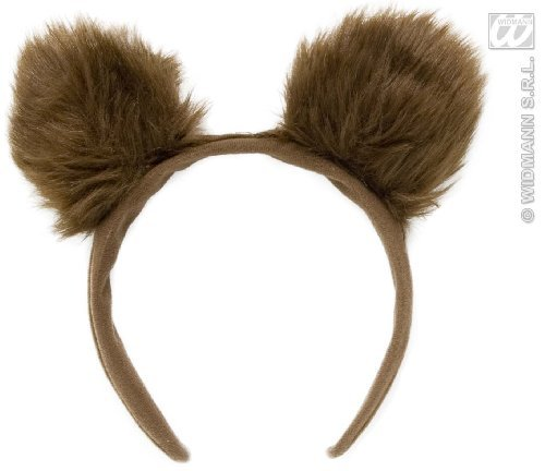 Bears Bear Ears On Headband Goldilocks Fairy Tale Fancy Dress by Home & Leisure Online