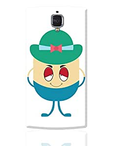 PosterGuy OnePlus 3 Case Cover - Awesome Stylish & Cool Man Cartoon Character | Designed by: Designer Chennai