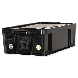 really useful 50l kunststoff aufbewahrungsbox recycelt robust stapelbar 50 liter bxtxh 440. Black Bedroom Furniture Sets. Home Design Ideas