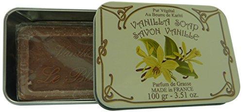 Création LeBlanc - Boite savon en métal vanille création leblanc
