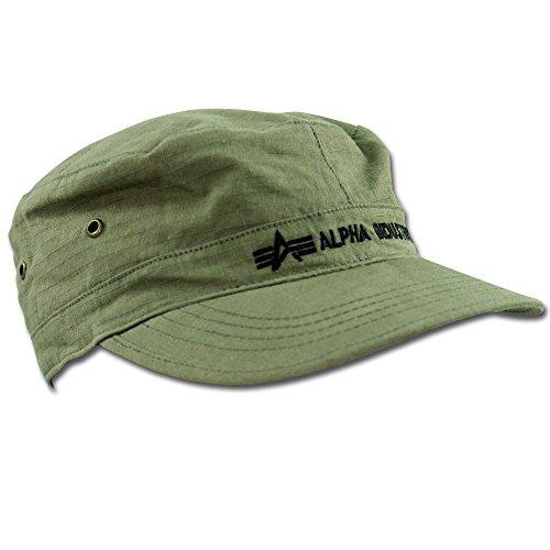 Alpha Industries Army Cap oliv Größe 60
