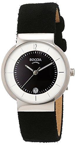 Boccia Damen-Armbanduhr Analog Quarz Leder 3123-10