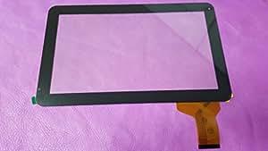 """Noir: ecran tactile touch digitizer vitre Tablette 10,1"""" MPMAN MPQC1010 MPQC 1010"""