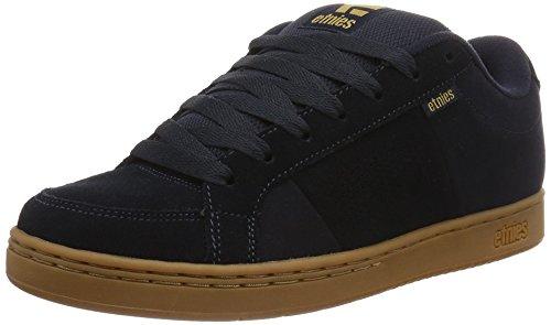 Etnies Kingpin, Zapatillas de Skateboard para Hombre, Azul (Black/Gum), 40