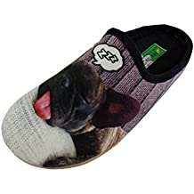 ALBEROLA Hausschuh Pantoffel Dackel mit Rose A11910A - EU 36-42 (41) bHcgjnVOTP