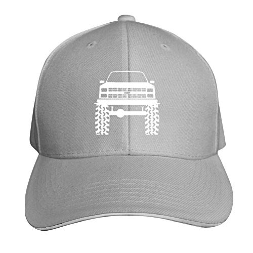 j65rwjtrhtr Mütze Hut Unisex 1980's 90's K5 Bla-zer Lifted Mud Tires Truck Trucker Baseball Cap Adjustable Peaked Sandwich Hat