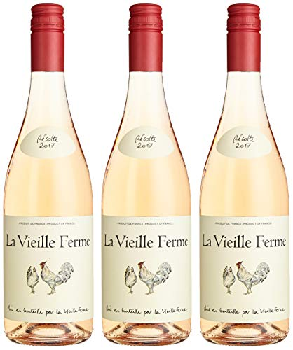 Famille Perrin / La Vieille Ferme Vin De France Rosé Cinsaut 2018 Trocken (3 x 0.75 l)