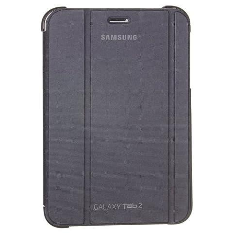 Samsung Original Diarytasche (Flipcover) im Buchdesign EFC-1G5SGECSTD (kompatibel mit Galaxy Tab 2 7.0) in