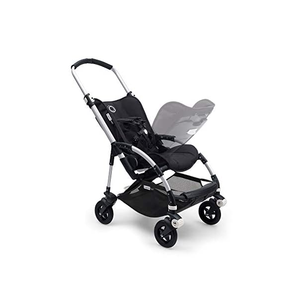Bugaboo Bee 5, Foldable and Lightweight Pushchair, Converts Into Pram, Black Bugaboo The perfect choice for city living Compact yet comfortable for parent and baby Light and easy one-piece fold for small spaces 5