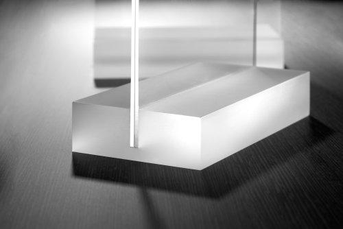 Sigel - Atril de mesa (acrílico, A4, base plana, 1,6 mm), transparente
