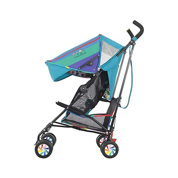 Maclaren Dylan's Candy Bar Volo Stroller - super lightweight, compact Maclaren Basic weight of 3.3kg/7.2lb; ideal for children 6 months and up to 25kg/55lb Maclaren is the only brand to offer a sovereign lifetime warranty Extendable upf 50+ sun canopy and built-in sun visor 17