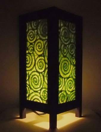 seltene asiatische orientalisch vintage m bel thai handgefertigt buddha stil lampe nachttische. Black Bedroom Furniture Sets. Home Design Ideas