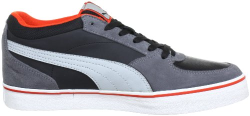 Puma Skate Vulc, Low-top homme Noir - Schwarz (black-high-rise-steel gray 04)