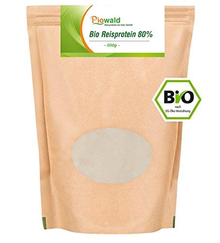 BIO Reisprotein 80% - 500g, glutenfrei