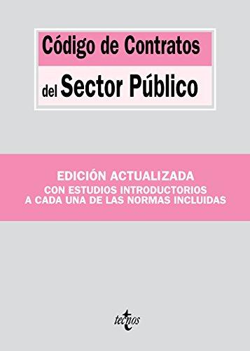 Código de Contratos del Sector Público (Derecho - Biblioteca De Textos Legales)