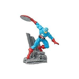 Marvel - Figura de colección Capitán América, 2.75 Pulgadas 7