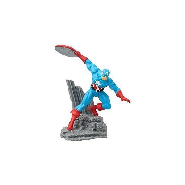 Marvel - Figura de colección Capitán América, 2.75 Pulgadas 1