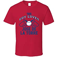 This Guy Loves Jose De La Torre Boston Baseball Player Classic T Shirt XXXX-L