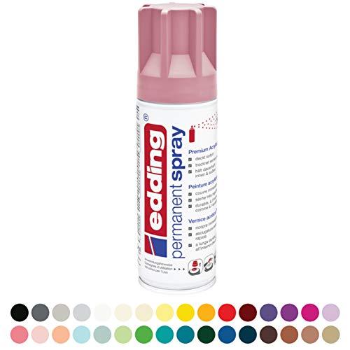 NEU Edding Permanent Spray, 200ml, Edel Mauve