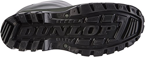 Dunlop K680011 Gambaletto In Pvc Unisex Adulto Half-shaft Wellington Green (verde 08)