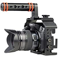 Kamerar Honu Cage avec poignée supérieure pour Panasonic GH - 3/GH - 4 & pour Sony A7