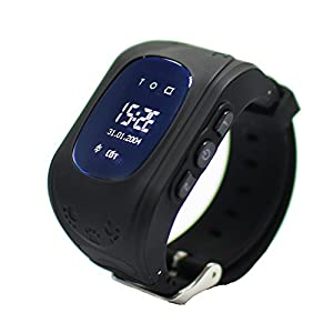 Smart Watch für Kinder, 9Tong GPS Tracker Smartwatch Handy für Kinder mit Antiverlust SOS, Armband mit SIM-Kartensteckplatz, Elternkontrolle durch iOS und Android Smartphone.