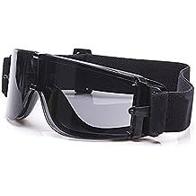 Balística X800 ejército gafas de seguridad 3 kit de lentes gafas de sol militares visión nocturna