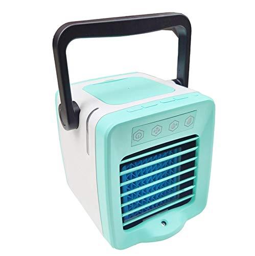 USB Mini tragbare Klimaanlage Arctic Air Cooler Luftbefeuchter Luftreiniger Led Licht persönlichen Raum Fan Luftkühler, Größe: 17 * 15,5 * 15,3 cm