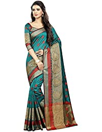 SATYAM WEAVES WOMEN'S ETHNIC WEAR BANARASI COTTON SILK SAREE. (VANDANA)