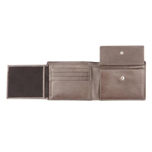 Picard Herren Buddy 1 Geldbörse, Schwarz (Schwarz), 12x9.5x2 cm graphit