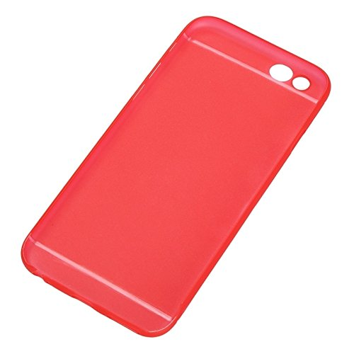 JING Pour iPhone 6 & 6S Protection ultramoderne pour caméra Design Translucence PP Case ( Color : Red ) Red