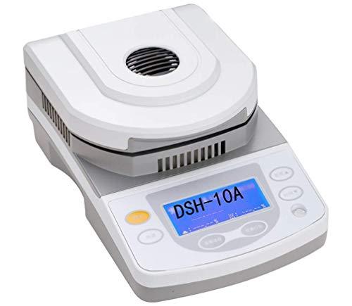 Analizzatore/Tester Dell'umidità Del Laboratorio Di Capacità Di 10G, Per L'analizzatore Di Umidità Dell'analizzatore Di Alogeno Infrarosso Dell'alimento Del Grano Del Grano Misuratore Di Umidità