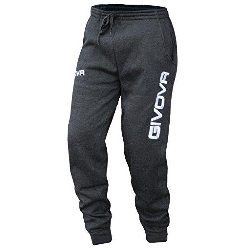 Givova Moon Pantalone Lungo Ginnastica Uomo Grigio XL