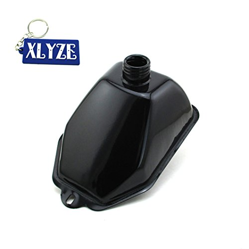 xlyze Metall Gas Tank-Kraftstoff für 50cc 70cc 90cc 110cc 125cc Coolster TAOTAO SunL Eagle ATV Quad 4Wheeler (Gas Wheeler Vier)