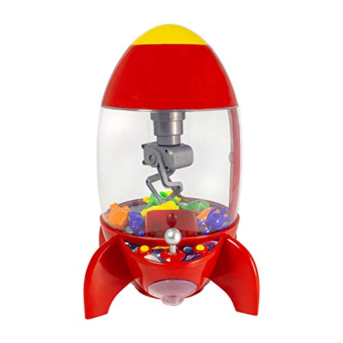 Global Gizmos 50210 Rocket Candy Grabber, Rot