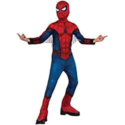 Spiderman Disfraz infantil para niño Classic, M (Rubie's Spain 630730-M)