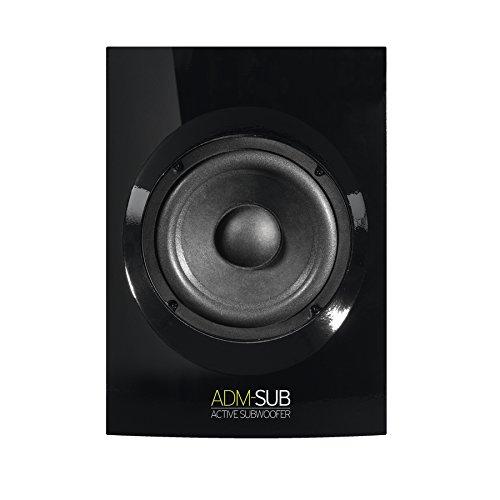 Reloop ADM-SUB Aktiv Subwoofer Studio-Monitor Schwarz