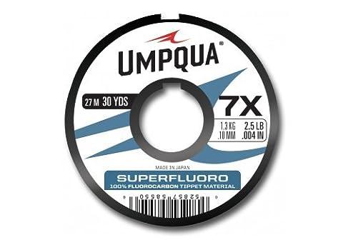 Umpqua SUPERFLUORO TIPPET 30 YDS 0X