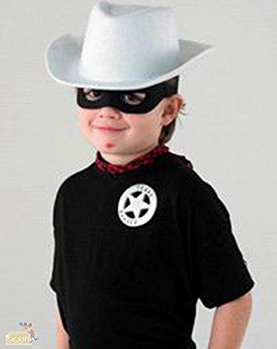 Lone Ranger Set für Lone Ranger Kostüm und Kinder Kostüm Zubehör