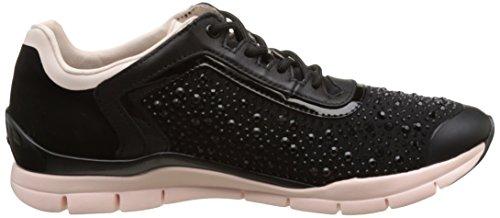 Geox D Sukie B, Sneakers Basses Femme Noir (Blackc9997)