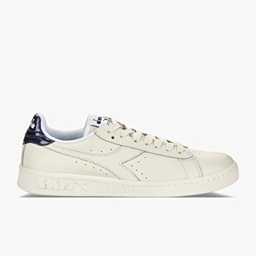 Diadora Game L Bas Mirror, Baskets Basses Unisexes - Adulte 60024 - Été Bleu