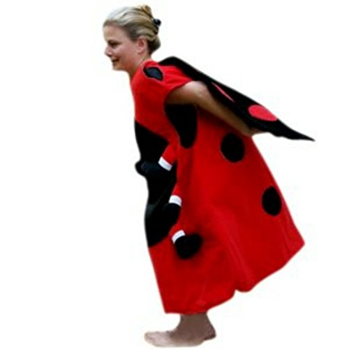 (Marienkäfer-Kostüm, Su25/00 Gr. M-XL, Einheits-Größe für alle Männer und Frauen, Marien-Käfer Kostüme als Faschings- Karnevals- Fasnachts-Geschenk, Gruppen-Kostüme für Erwachsene)