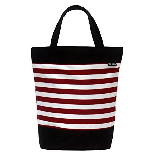 C-BAGS SHOPPER SAILOR Gepäckträger Fahrradtasche Tasche verschiedene Muster Red