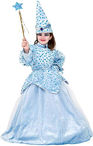 Costume di carnevale da fatina turchina in velluto vestito per bambina ragazza 1-6 anni travestimento veneziano halloween cosplay festa party 1041 taglia 2