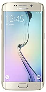 Samsung Galaxy S6 Edge Smartphone (5,1 Zoll (12,9 cm) Touch-Display, 32 GB Speicher, Android 5.0) gold