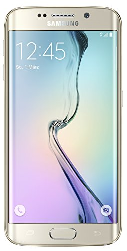 Samsung Galaxy S6 Edge Smartphone (5,1 Zoll (12,9 cm) Touch-Display, 64 GB Speicher, Android 5.0) gold